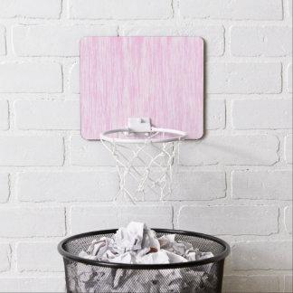 Pink Fiber Mini Basketball Hoop