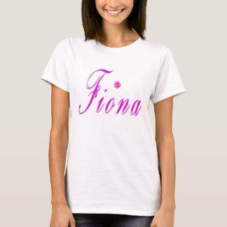 Pink Fiona Name Logo, T-Shirt