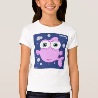Pink Fish Girls' Bella Fitted Babydoll T-Shirt