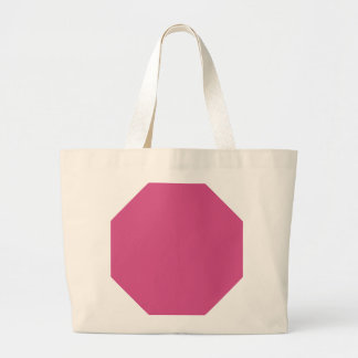 Pink Flambe Background. Chic Fashion Color Trend. Canvas Bag