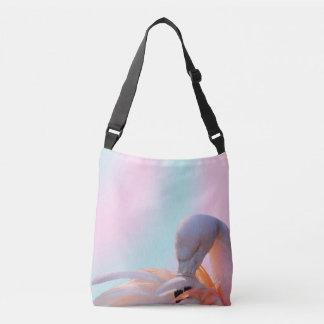 Pink Flamingo All-Over-Print Cross Body Bag