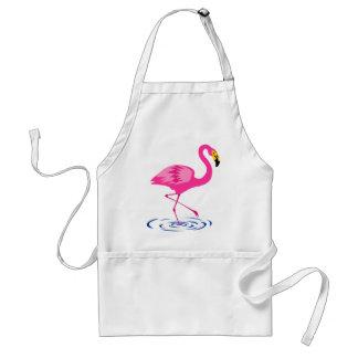 Pink Flamingo Adult Apron