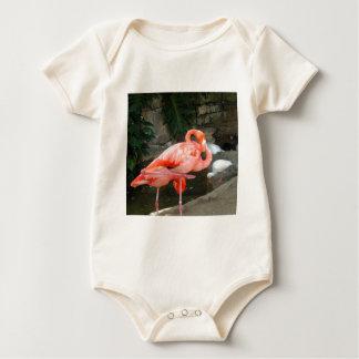 Pink Flamingo Baby Bodysuit