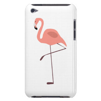 Pink Flamingo Bird Illustration iPod Touch Covers