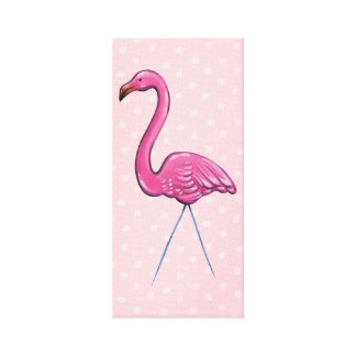 Pink Flamingo Canvas