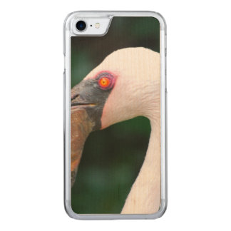 Pink Flamingo Carved iPhone 8/7 Case