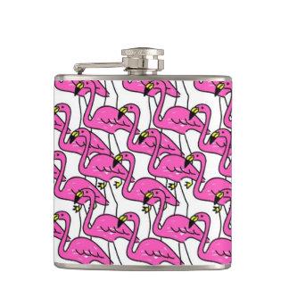 Pink Flamingo Hip Flask