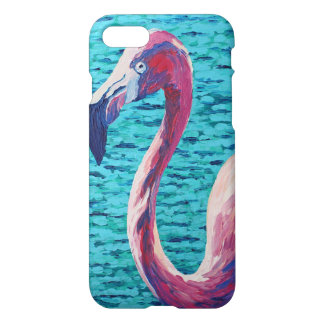 Pink Flamingo iPhone 8/7 Case