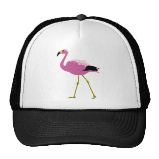 Pink Flamingo Mesh Hats