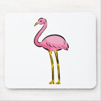 Pink Flamingo Mousepads