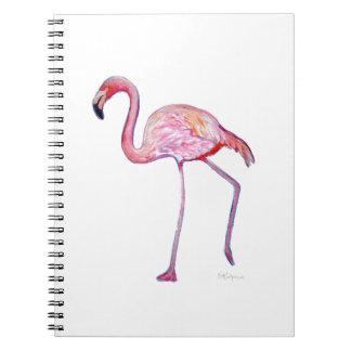 Pink Flamingo Notebooks