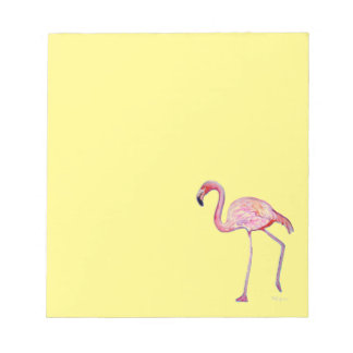 Pink Flamingo Notepad