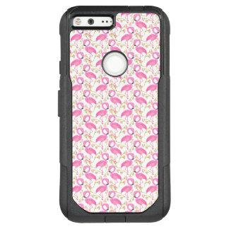 Pink Flamingo Pattern OtterBox Commuter Google Pixel XL Case