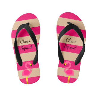 Pink Flamingo Personalized Thongs