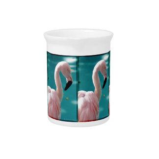 Pink Flamingo Pitcher