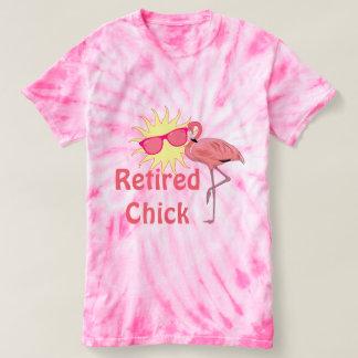 Pink Flamingo Retired Chick Happy Sunshine T-Shirt