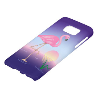 Pink Flamingo Samsung Galaxy S7 Case