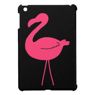 Pink Flamingo Silhouette iPad Mini Cover