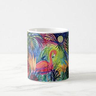 Pink Flamingo Tropical Mug