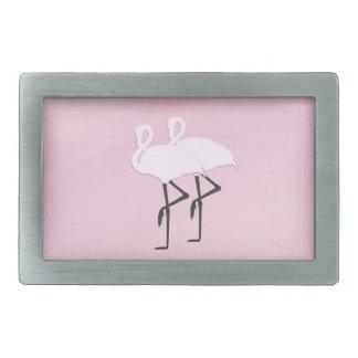 Pink Flamingos Belt Buckle