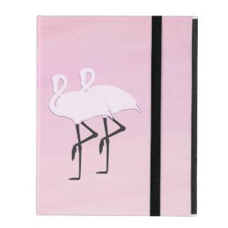 Pink Flamingos iPad Cover