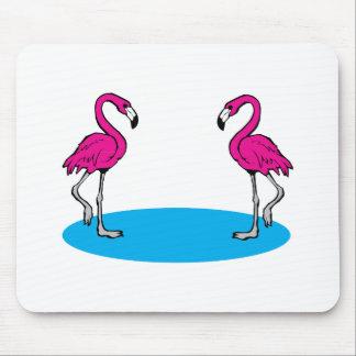 Pink Flamingos Mousepads