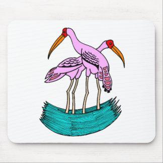 Pink Flamingos Mouse Pad