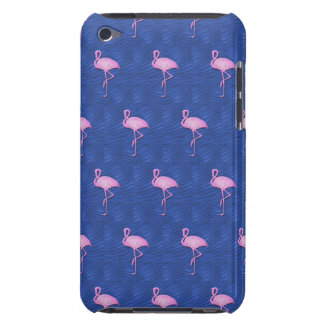 Pink flamingos pattern iPod touch cases