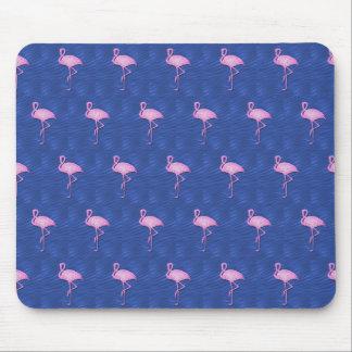 Pink flamingos pattern mousepads