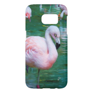 Pink Flamingos Samsung Galaxy Cases