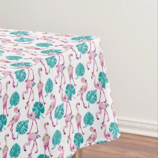 Pink Flamingos Tablecloth