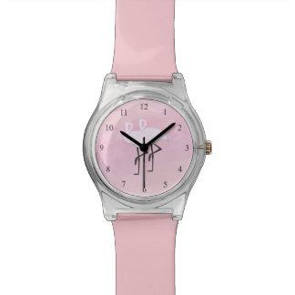 Pink Flamingos Watch