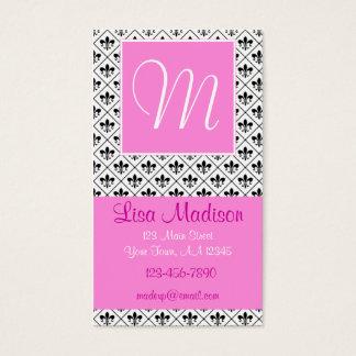 Pink Fleur Business Card