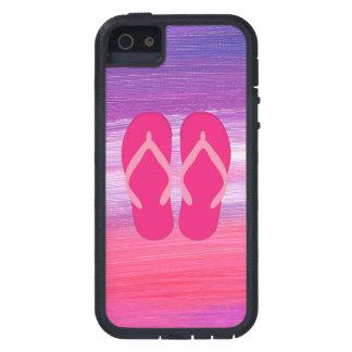 Pink Flip-Flops iPhone 5 Case