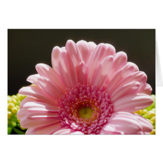 Pink Floral Any Occasion Card - Blank Flower Note