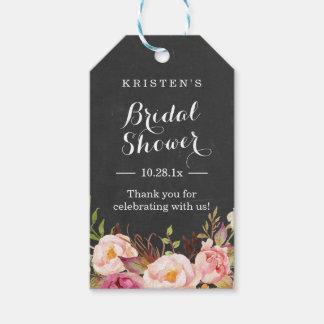 Pink Floral Chalkboard | Bridal Shower Thank You