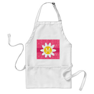 Pink Floral; Daisy Apron