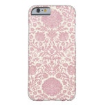 Pink Floral Damask Pattern iPhone 6 Case