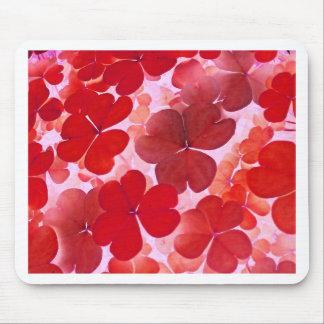Pink Floral Design Art Glow Gradient Digital Art L Mousepads
