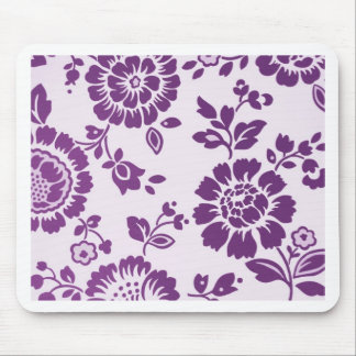 Pink Floral Design Art Glow Gradient Digital Art L Mouse Pad