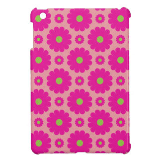 Pink floral design ipad mini case