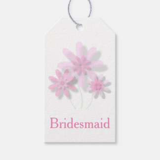 Pink Floral Gift Tags (Customisable)