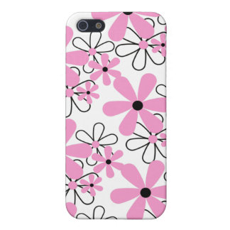 Pink Floral iPhone4 iPhone 5/5S Cases