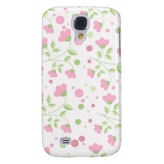 Pink Floral iPhone Case 3G Samsung Galaxy S4 Case