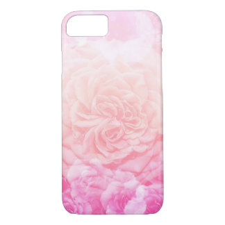 Pink Floral Ombré iPhone 8/7 Case