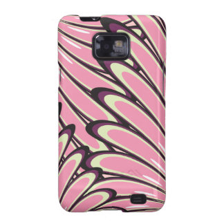 Pink floral pattern costume samsung galaxy case samsung galaxy s2 cases