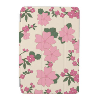 Pink Floral Pattern iPad Mini Cover