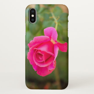 Pink floral pattern rose phone case