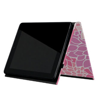 Pink Floral Print iPad Case