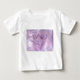 Pink Floral Soft Baby T-Shirt